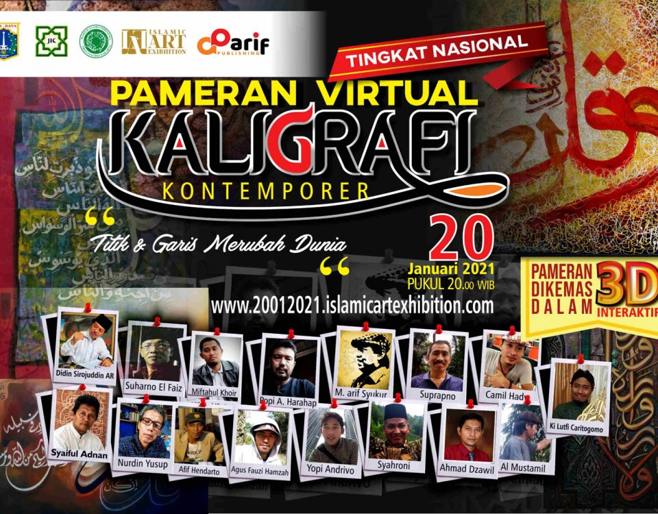 Launching Pameran Virtual Kaligrafi Kontemporer